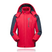 Lixada Men's Jacket Winter Waterproof Coat Outdoor Windproof Fleece Ski Jacket for Hiking Running Skiing Sport