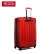 TUMI V3 Business Leisure Travel Check Trolley 0228264SUN Red 24 Inch