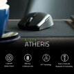 Razer Atheris Bluetooth Wireless Mouse Ambidextrous Mini Portable Gaming Mouse 7200 DPI Optical Sensor 2.4 GHz for Work and Play