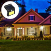 Solar Sensor Wall Lights, 48 LEDs Waterproof Outdoor Lighting Solar Powered Energy Saving PIR Motion Sensor Street Lamp Garden Nig