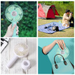 New Portable Mini Handheld Fan with Stand Cradle USB Wind Blower ventilateur Indoor Outdoor Fan For Laptop Computer