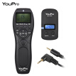 YouPro MC-292 E3 2.4G Wireless Remote Control LCD Timer Shutter Release Transmitter Receiver 32 Channels for Canon 80D 760D 750D 7