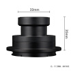 7artisans 50mm F5.6 drone aerial 3D mapping lens APSC format can be applied to Sony E-port full-frame micro-single (Sony E-port black)