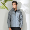 Columbia soft shell outdoor men's water-proof soft shell jacket windproof soft shell coat WE1207021 L