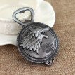 NEW Game of Thrones: House Stark Winter Is Coming Keychain and Bottle Opener