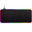 Ling charm RGB magic color mouse pad large game esports office non-slip mouse pad colorful luminous mouse pad computer desk mat 800*300*4MM black