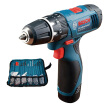 Bosch (BOSCH) GSB120 12V home rechargeable electric drill impact drill single electric version 100 accessories promotional equipme