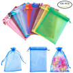 PH PANDAHALL 150 Pcs 18x13cm Organza Drawstring Bags, Jewelry Party Wedding Favor Gift Bags