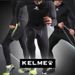 KELME Men's Compression Baselayer Pants Leggings Cool Dry Tights