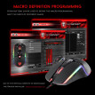 Motospeed V20 RGB Programming 5000 DPI Gaming Game Mouse Professional Adjustable USB Computer Wried Optical Backlit LED for PC