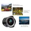 7artisans 12mm f/2.8 Ultra Wide Angle Prime Lens Manual Focus Large Aperture for Canon M1/ M2/ M3/ M5/ M6/ M10/ M100/ M50 EOS M-Mo