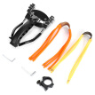 Compact Aluminum Alloy Wrist Slingshot with Magnet for Hunting Training