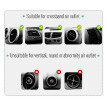 Phone Holder Car Air Vent Gravity Design Phone Holder Mount Cradle Stand for Mobile Phone GPS