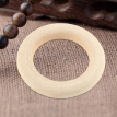 Greensen 20Pcs Natural Unfinished Wood Rings Wooden Round DIY Craft Jewelry Making Accessory New, Ring Wood, Craft Wooden Ring
