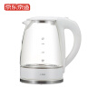 Beijing Tokyo glass electric kettle Kettle 1.8L 304 stainless steel high borosilicate explosion-proof