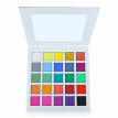 25 Color Glitter Eyeshadow Palette Rainbow Pigment Eye Shadow Palette Long-Lasting Waterproof Matte Shimmer Cosmetics Makeup