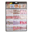 〖Follure〗144pcs Mixed Set False Nail Tips Artificial Fake Nails Art Acrylic Manicure Gel
