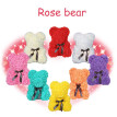 Valentine Day Birthday Gift Artificial Roses Bear Home Wedding Party Decoration