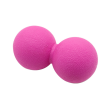 Fascia Ball Peanut Ball Muscular Relajación Pie Acupuntos Pie Masaje Ball Healing Ball tpe Mini Yoga Ball