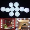 Portable Make-Up Lamp Dimmable Light Bulbs LED Cosmetic Mirror Lights Kit