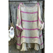 Women's Plus Size Summer Blouse Tunic Holiday Ladies Cotton Linen T-shirt Tops