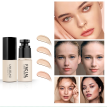 Soft Matte Liquid Foundation Moisturizing Oil Control Long Wear Makeup Cover Skin Color Long Lasting Face Foundation  Cosmetics
