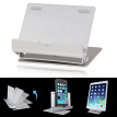 Aluminium Portable Fold-up desk Stand Cradle Holder For iPad iPhone tablet