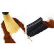 Removable Double Head Coffee Brush Coffee Grinder Machine Cleaning Brush Dusting Espresso Coffee Powder Brush