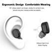 Wireless Bluetooth 4.1 Headphones Mini Invisible Earphone In-ear Stereo Music Headset Earpiece USB Charging Base Hands-free w/ Mic