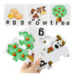 Gotoamei 12PCS Wooden Animal Puzzle Jigsaw Blocks Kid Learing Educational Toy