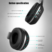 Somic N12 BT Headset BT4.2 Wireless Headphone Light Headsets with Microphone for PC Laptop(Black)