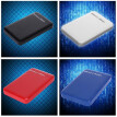 "2.5"" USB3.0 SATA3.0 HDD Hard Disk Drive Enclosure Case External HDD Box Tool Free 6 Gbps Support 3TB UASP Protocol"