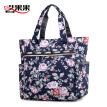Oxford Fabric Bag for Middle-aged and Old Women Bag Mama Waterproof Printed Canvas Bag with Large Capacity Single Shoulder Fabric