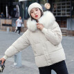 (Toponeto) Ladies Quilted Padded Puffer Bubble Fur Collar Warm Thick Womens Jacket Coat