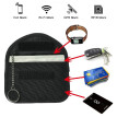 Key Fob Signal Blocking Bag Auto RFID Blocking Holder Anti-hacking Security Bag for Car Smart Keyless Entry Remote Fob Controller
