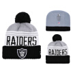 NFL Football League Raiders Oakland Raiders New Era Innocent Knitted Wool Baseball Cap