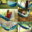 Xiaomi Zaofeng Outdoor Hammock Parachute Cloth 300kg Bearing Weight Quick Build Anti Roll Side Flipping For Travel Camping Hiking