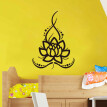 〖Follure〗Creative Plants Lotus Background Wall stickers Art Design Stickers