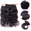Amazing Star Brazilian Virgin Hair Body Wave with Closure Bundles with Closure Human Hair with Closure Natural Color