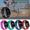 GTcoupe A6S Smart Wristband Pedometer Sport Blood Pressure Heart Rate Monitor Color Screen Smart Band