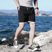 Tailored Men's New Summer Casual Loose Belt Drawstring Cotton Hemp Beach Shorts Pants