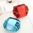 Mermaid Sequins design Cosmetic Bag Drawstring Makeup Case Women Travel Make Up Organizer Storage Pouch Toiletry Wash Kit