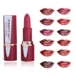 Natural Waterproof Matte Velvet Glossy Lip Gloss Lipstick Lip Sexy Red Lip Tint 12 Colors Women Fashion Makeup Gift