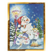 100% 5D DIY Diamond paintings Mosaic Wall Sticker Christmas snowman music Suitable for Home Puzzle birthday wedding Decor
