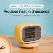 Baseus fan heater for home intelligent temperature safety small warm conditioning for 10m2 room