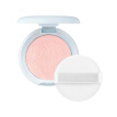 Single Color Shimmer Highlighter Powder Palette Face Makeup Contouring Highlight Shadow Powder Puff Brighten Makeup Cosmetics