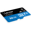 Lexar 32GB TF (MicroSD) memory card Class10 UHS-I A1 read 95MB / s high speed and stability, strong compatibility (633x)