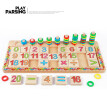 Siaonvr Wooden Learning Puzzle Math Teaching Educational Building Blocks Kids Toys