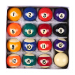 25MM / 38MM Children Billiards Table Balls Set Resin Small Pool Cue Balls Full Set