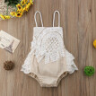 Newborn Kid Baby Girl Fashion Clothing Lace Romper Jumpsuit Outfits Clothes Set